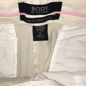 Victoria's Secret Pants - Body by Victoria Stretch Flare Khaki Dress Pants